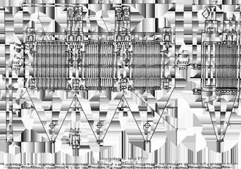 Схема электрофильтра УГ3-4-265